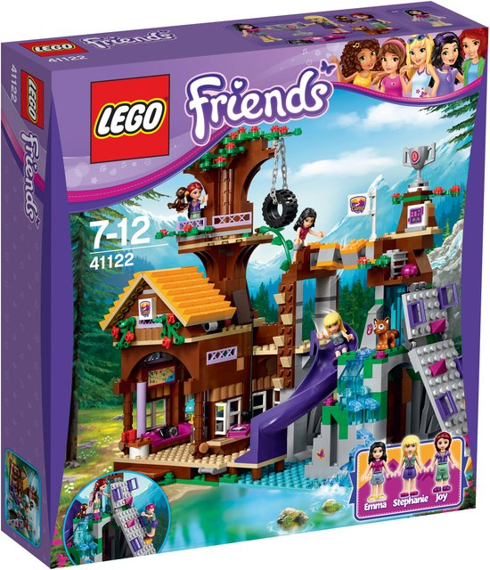LEGO Friends Avonturenkamp Boomhuis - 41122