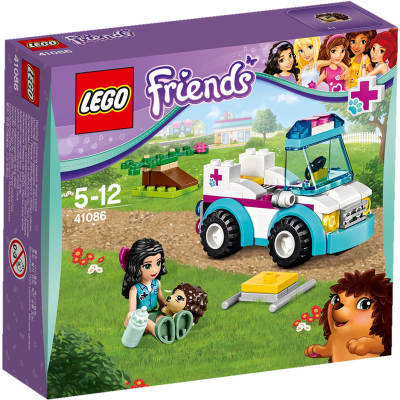 LEGO Friends Dierenambulance 41086