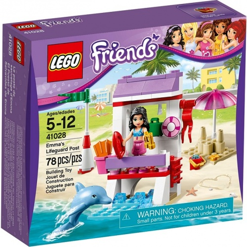 LEGO Friends Emmas reddingspost 41028