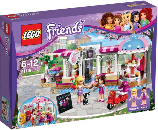 LEGO Friends Heartlake Cupcake Café - 41119