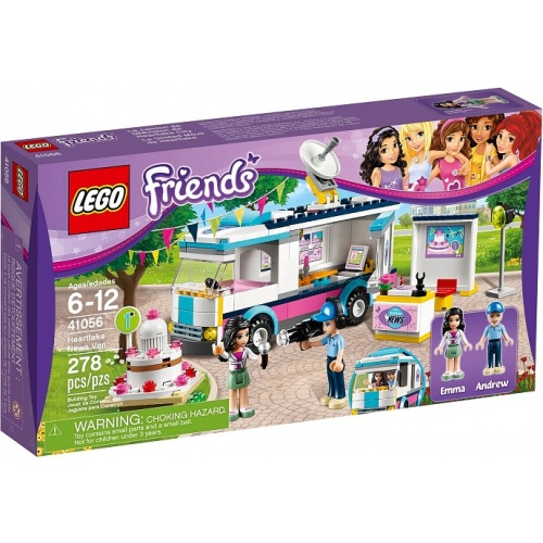 LEGO Friends Heartlake satellietwagen 41056