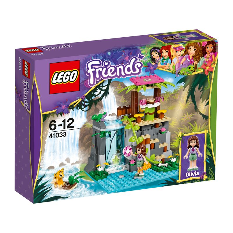 LEGO Friends Junglewaterval Reddingsactie 41033