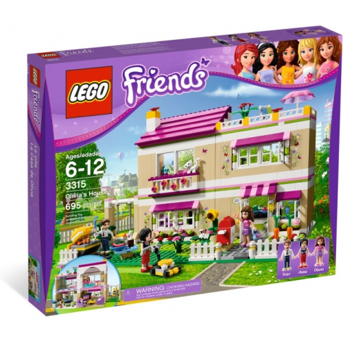 LEGO Friends Olivias Huis 3315