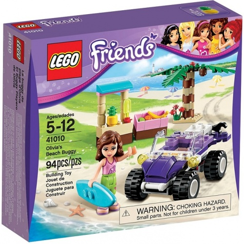 LEGO Friends Olivias Strandbuggy 41010