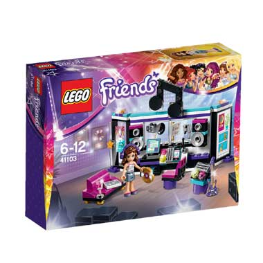 LEGO Friends popster opnamestudio 41103