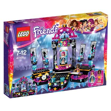 LEGO Friends popster podium 41105