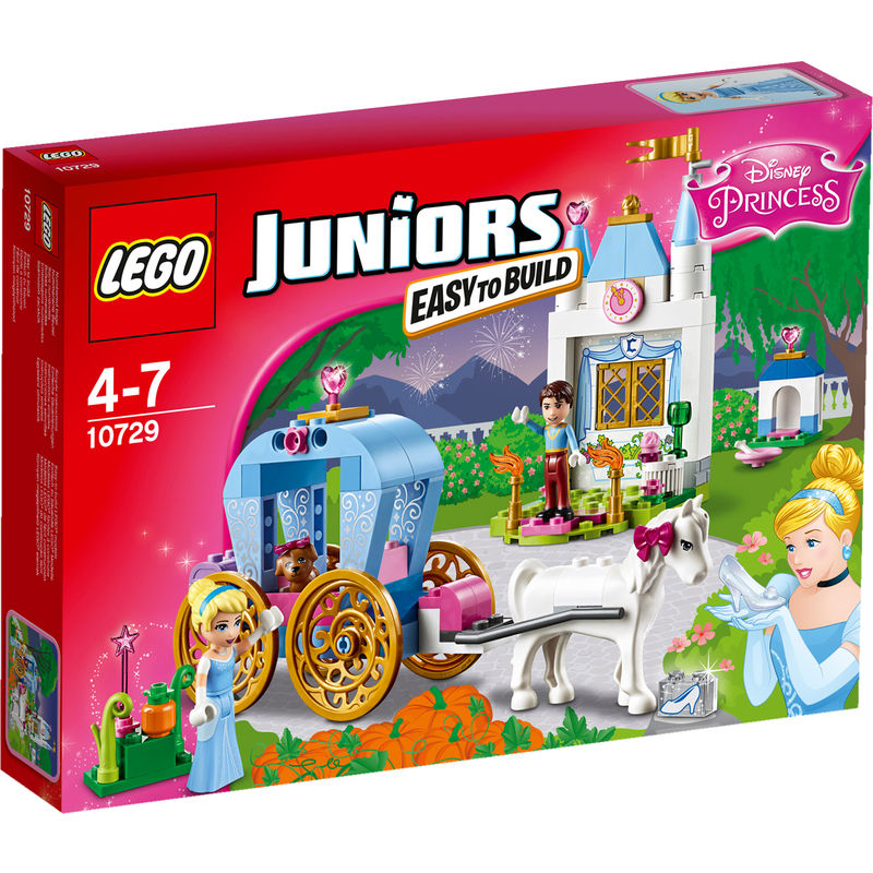 LEGO Juniors Disney Princess Assepoesters Koets 10729