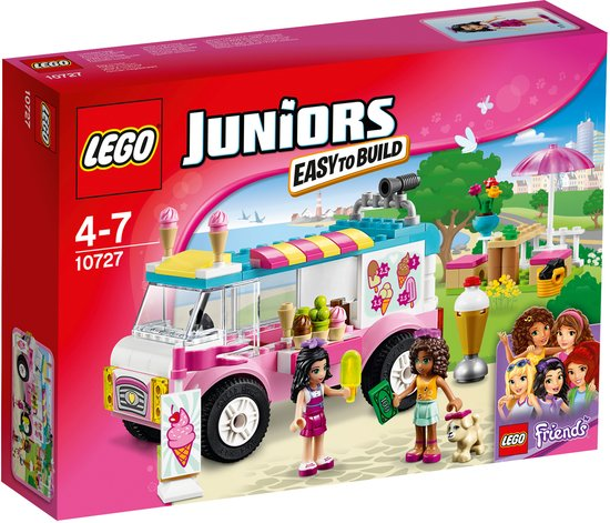 LEGO Juniors Friends Emmas IJswagen - 10727