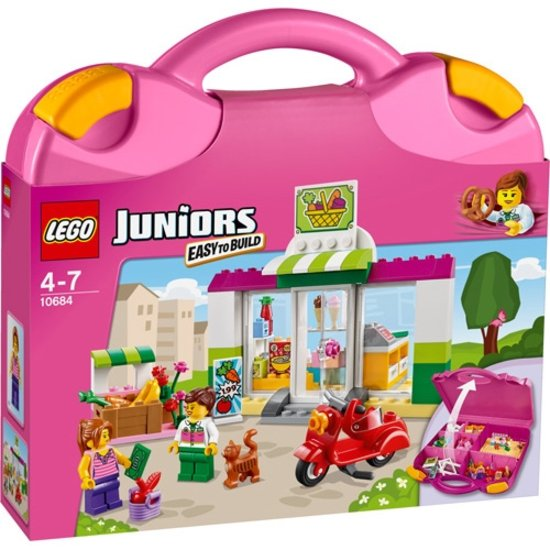 LEGO Juniors Supermarkt Koffer 10684