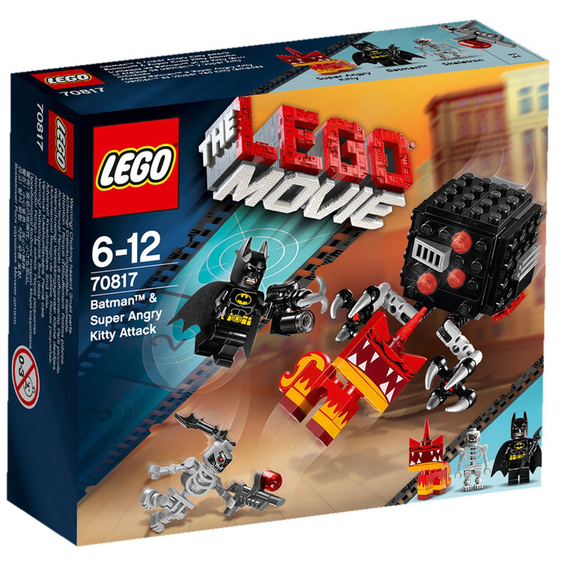 LEGO Movie Batman & Super Angry Kitty aanval 70817