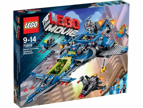 LEGO Movie Bennys Ruimteschip 70816