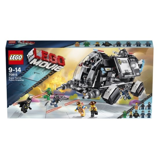 LEGO Movie Supergeheim Politie-Dropship - 70815