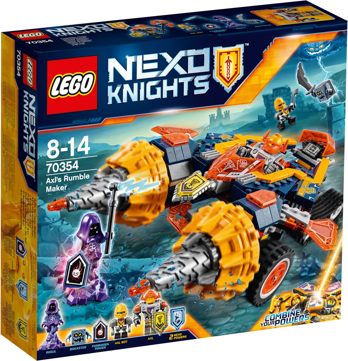 LEGO NEXO KNIGHTS Axls Rumble Maker - 70354