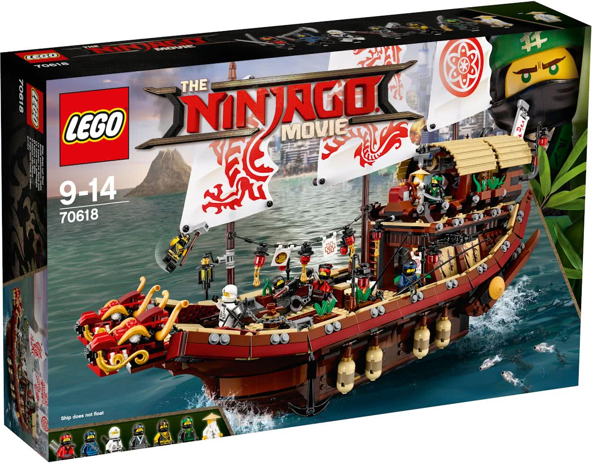 LEGO NINJAGO Movie Destinys Bounty - 70618