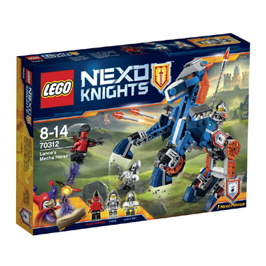 LEGO Nexo Knights Lances Mecha paard 70312
