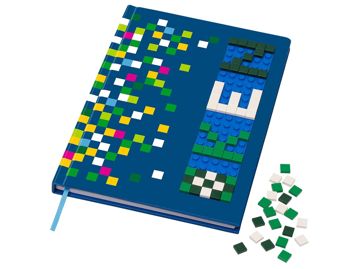 LEGO Notebook with Studs 60stuk(s) bouwset