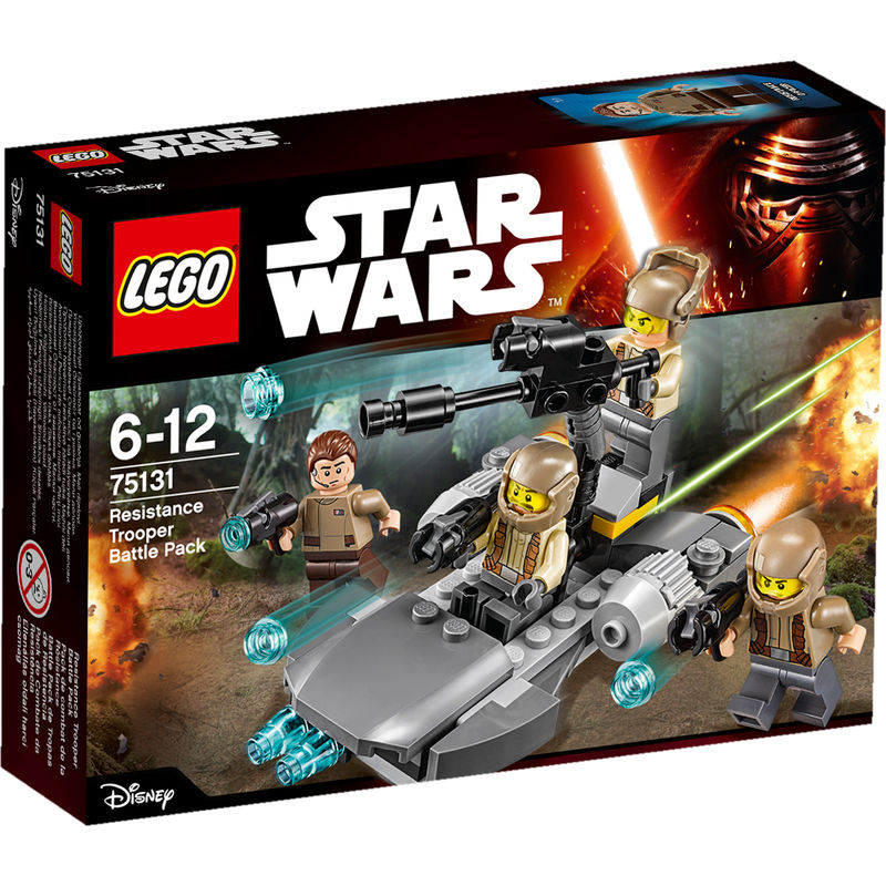 LEGO Resistance Trooper Battle Pack 75131