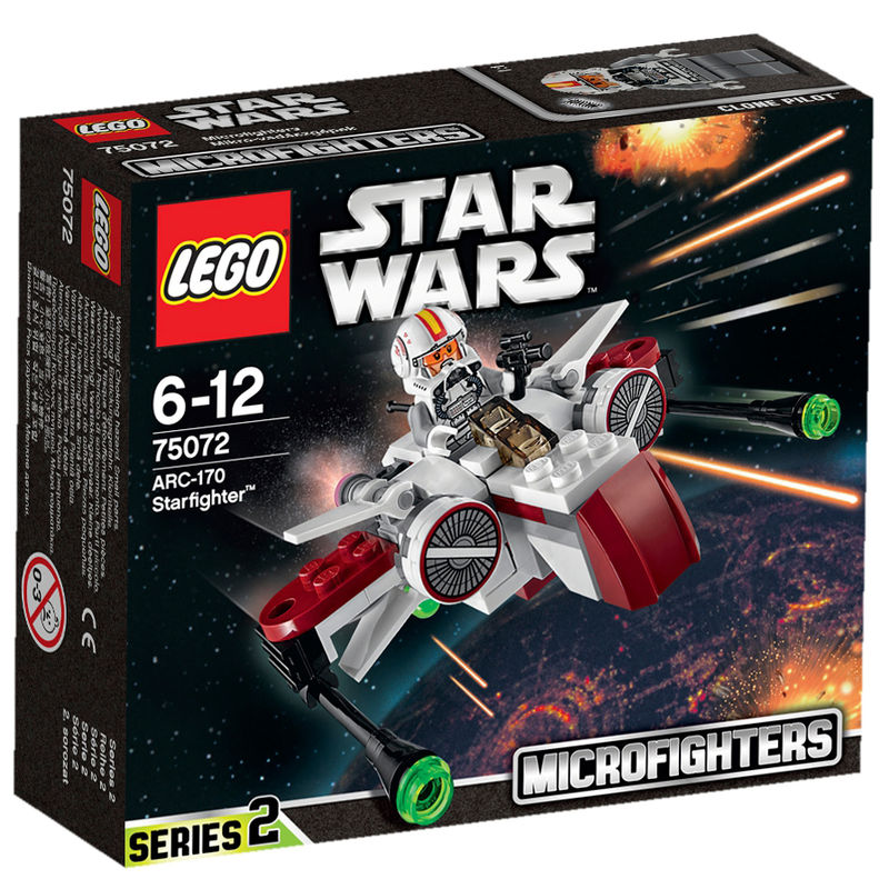LEGO Star Wars ARC-170 Starfighter 75072
