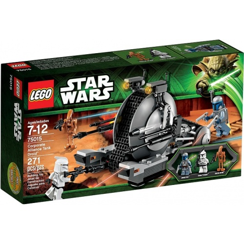 LEGO Star Wars Corporate Alliance Tank 75015