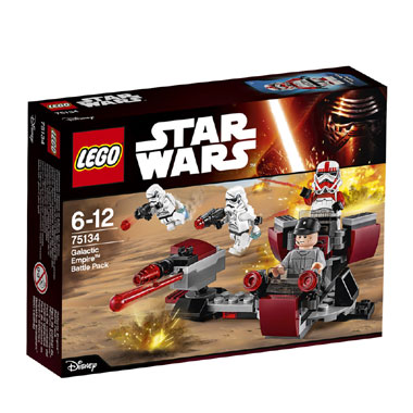 Galactic Empire Battlepack 75134