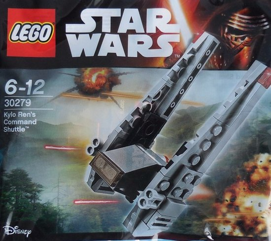 LEGO Star Wars Kylo Rens Command Shuttle - 30279