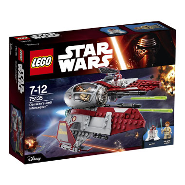 LEGO Star Wars Obi-Wans Jedi Interceptor 75135