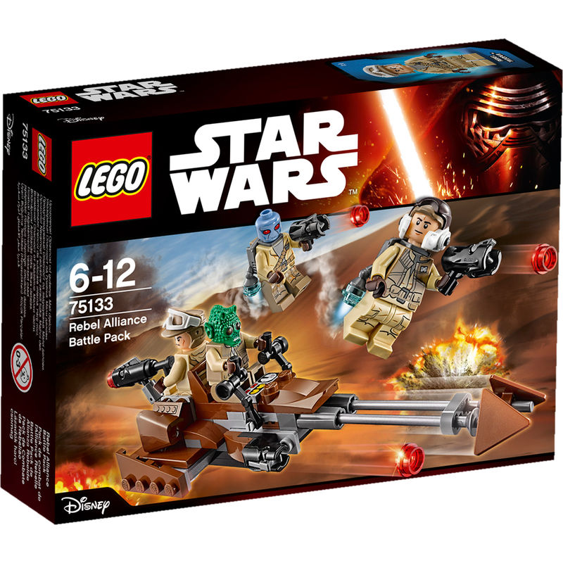Rebels Battle Pack 75133
