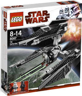 8087 LEGO Star Wars TIE Defender