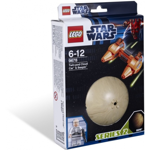 LEGO Star Wars Twin-pod Cloud Car & Bespin 9678