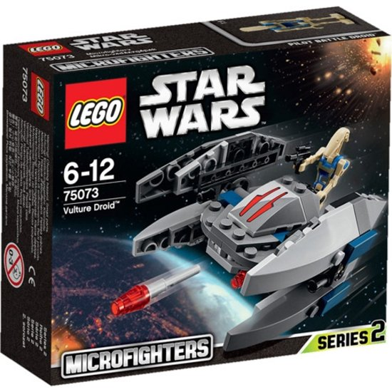 LEGO Star Wars Vulture Droid Microfighter 75073