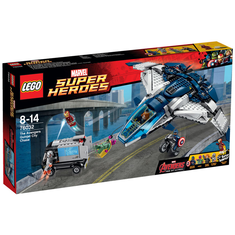 LEGO Super Heroes Avengers Quinjet City Chase 76032