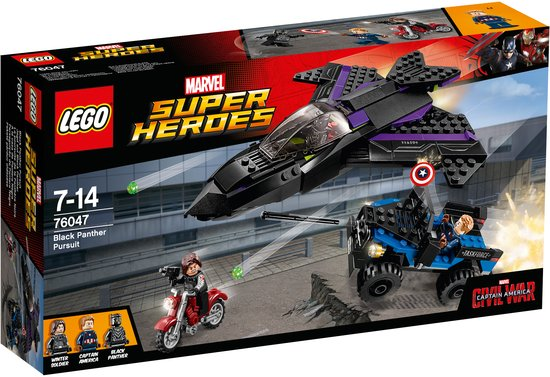 LEGO Super Heroes Black Panther Pursuit - 76047