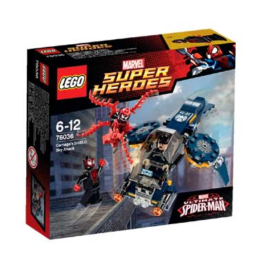 LEGO Super Heroes Carnage SHIELD luchtaanval 76036