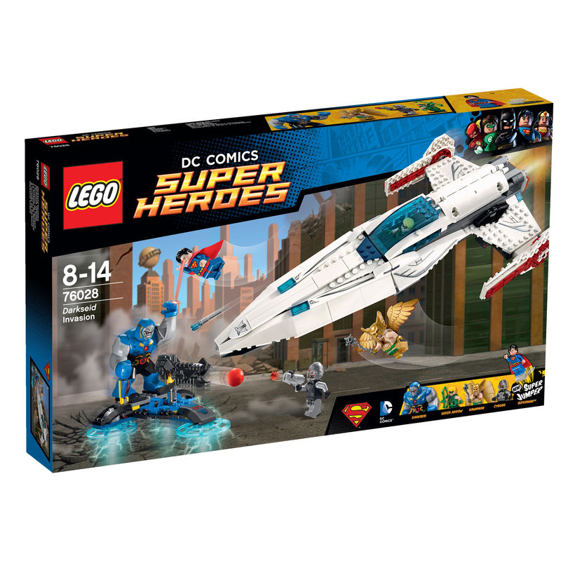 LEGO Super Heroes Darkseid Invasie 76028