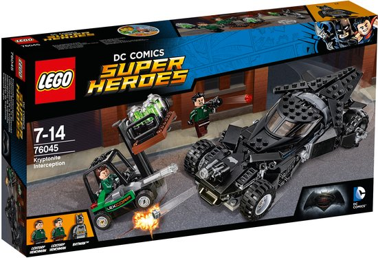 LEGO Super Heroes Kryptoniet Onderschepping - 76045