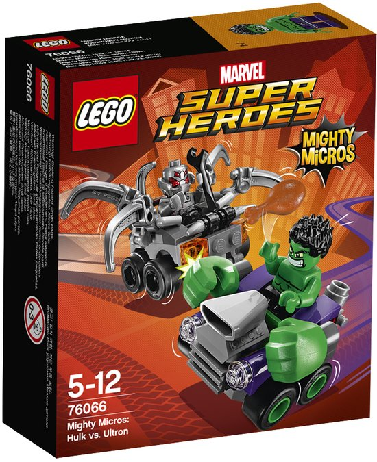 LEGO Super Heroes Mighty Micros Hulk vs. Ultron - 76066