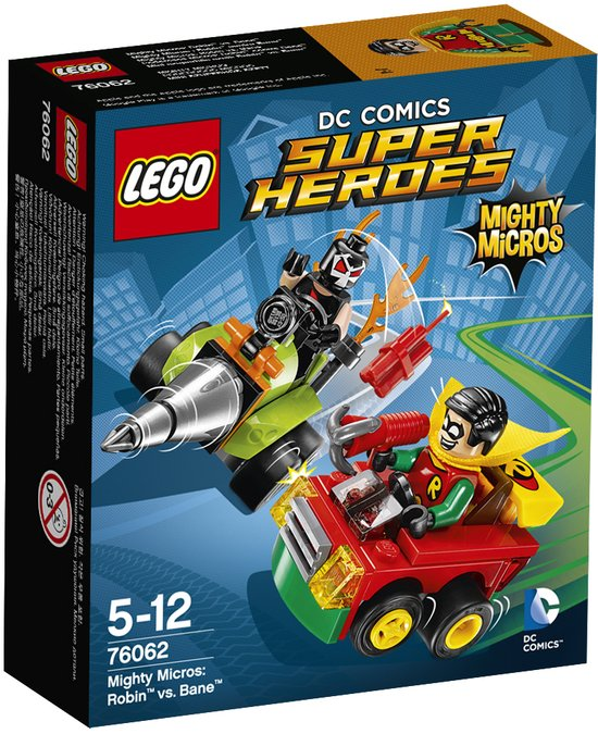 LEGO Super Heroes Mighty Micros Robin vs. Bane - 76062