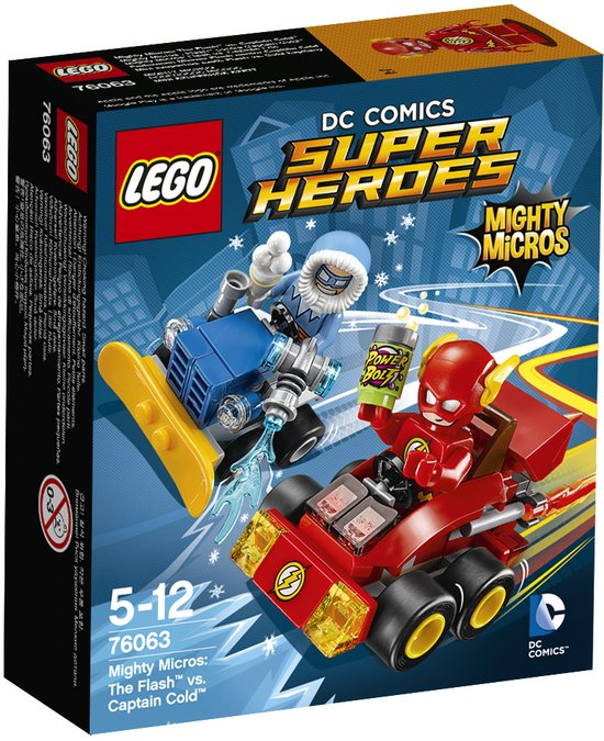 LEGO Super Heroes Mighty Micros The Flash vs. Captain Cold - 76063