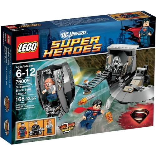 LEGO Super Heroes Superman Black Zero 76009