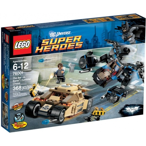 LEGO Super Heroes The Bat vs Bane Tumbler achtervolging 76001