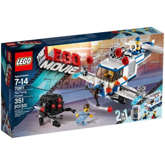 LEGO The Movie De Flying Flusher 70811