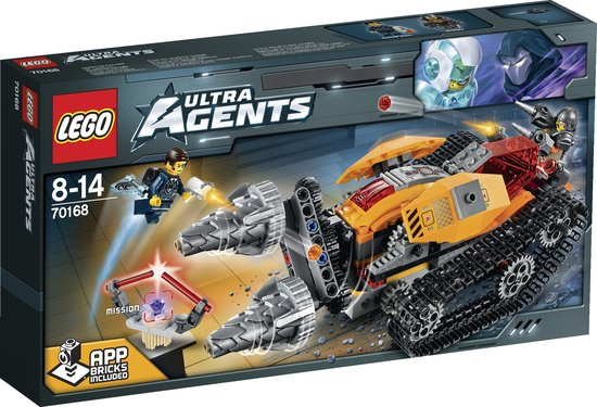 LEGO Ultra Agents Drillex Diamantroof 70168