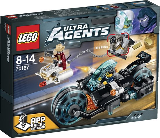 LEGO Ultra Agents Invizable Gouden Ontsnapping 70167