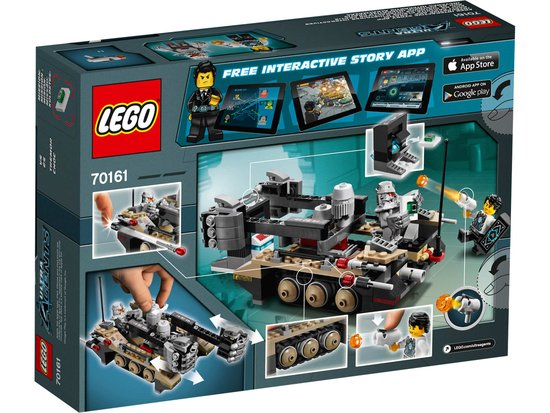 LEGO Ultra Agents Tremor Track Infiltratie 70161