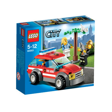 Lego City Fire Brandweercommandant 60001