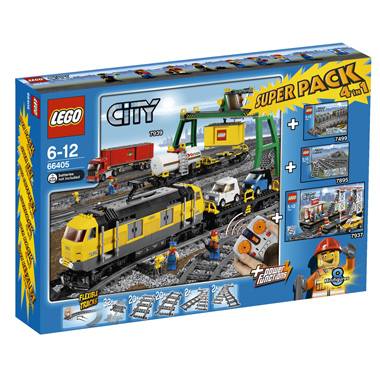 Lego City Superpack 4 in 1 pack 66405
