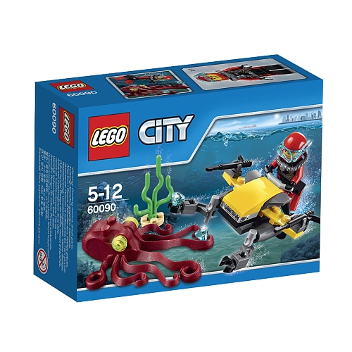 Lego City diepzee duik scooter 60090