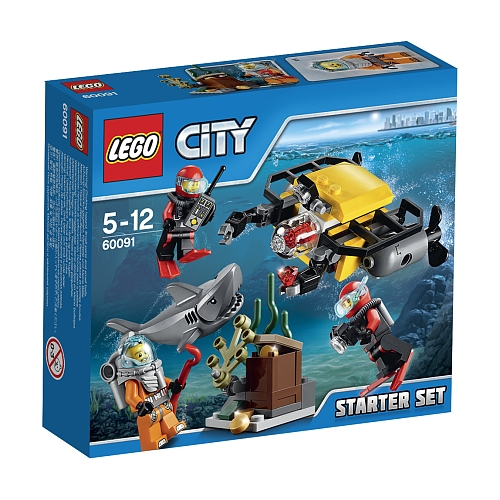 Lego City diepzee starter set 60091