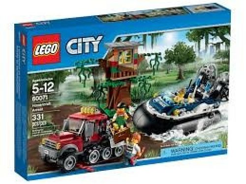 Lego City hovercraft arrestatie 60071