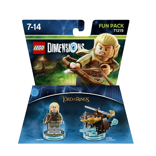 Lego Dimensions - fun pack, lord of the rings legolas 71219
